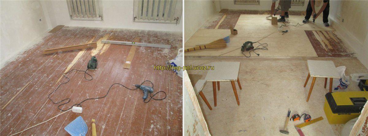Как правильно постелить деревянный пол своими руками